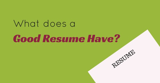 What does a Good Resume Have? Important Points to Include - WiseStep