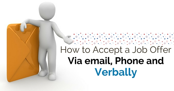 How to Accept a Job Offer via Email, Phone and Verbally - WiseStep
