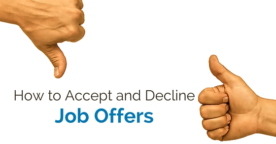 How to Accept or Decline Job Offer 23 Best Tips - WiseStep