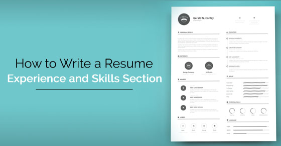 How to Write a Resume Skills and Experience Section? - WiseStep - What To Put On Skills Section Of Resume