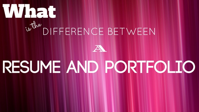 What is the Difference Between a Resume and Portfolio? - WiseStep - portfolio resume