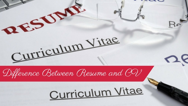 What is the Difference Between Resume and CV? - WiseStep
