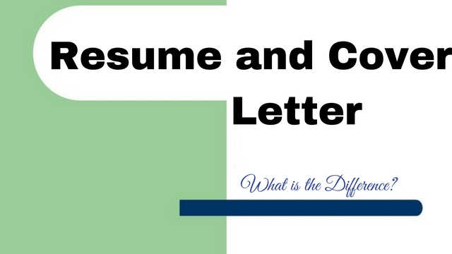 Resume and Cover Letter - What is the Difference? - WiseStep