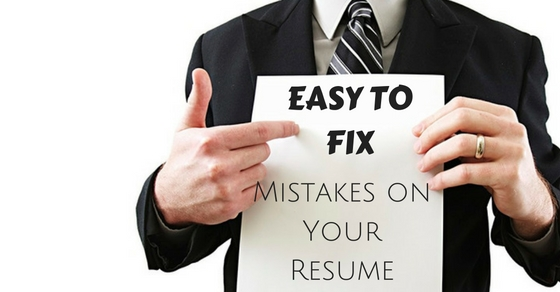 Top 7 Easy to Fix Mistakes on Your Resume - WiseStep
