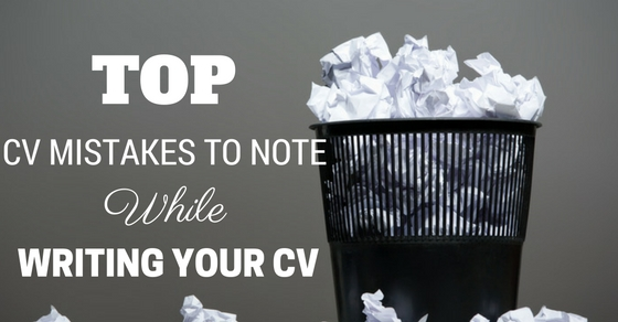Top 39 CV Mistakes to Note While Writing your CV Checklist - WiseStep