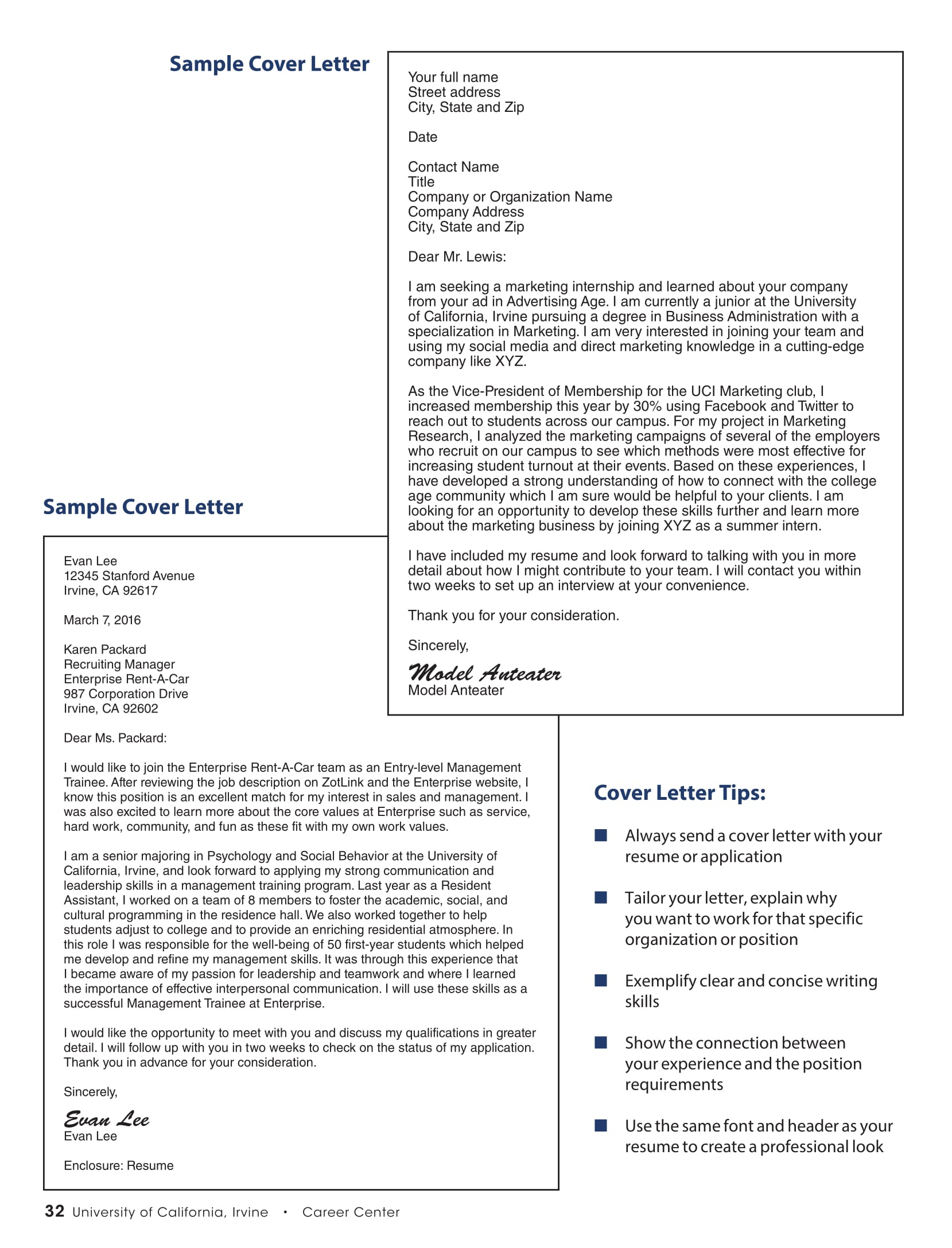 Covering Letter Sample For Resume 16 Best Cover Letter Samples For Internship Wisestep
