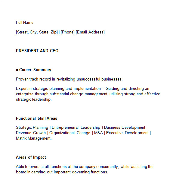 Ceo Resume Template Personal Assistant To Ceo Resume Personal - ceo personal assistant sample resume