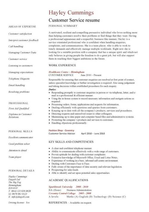 22 best customer service representative resume templates wisestep sample customer service resume