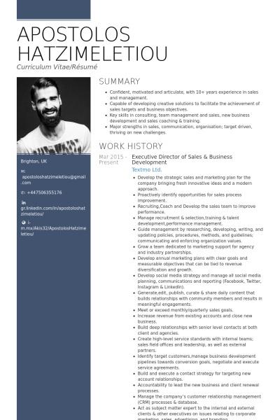 best executive resume templates 2017