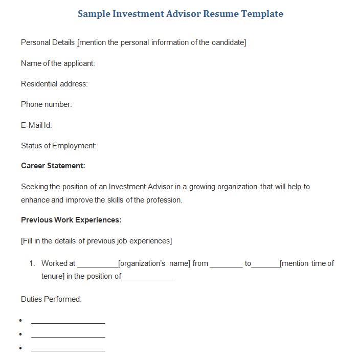 18 Best Banking Sample Resume Templates - WiseStep