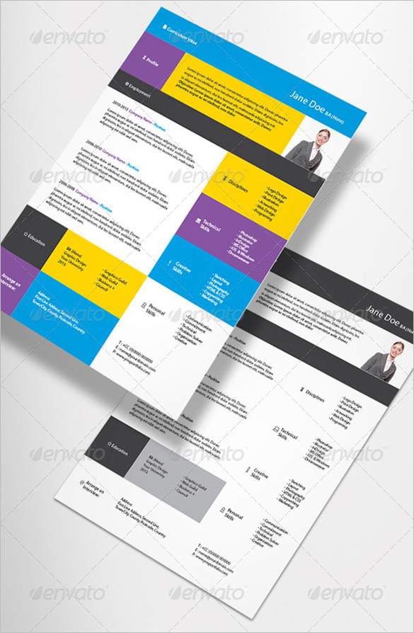 19 Contemporary Resume Templates to Impress any Employer - WiseStep - indesign resume templates