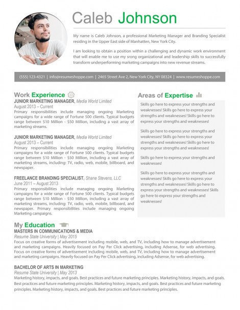 creative manager resume example