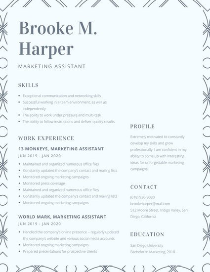 Top 35 Modern Resume Templates to Impress any Employer - WiseStep