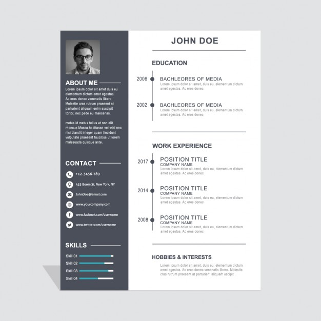 30 Simple and Basic Resume Templates for all Jobseekers - WiseStep - simple resume template
