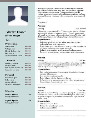 the two column resume format and why you should use it 2 column - columnist resume 2