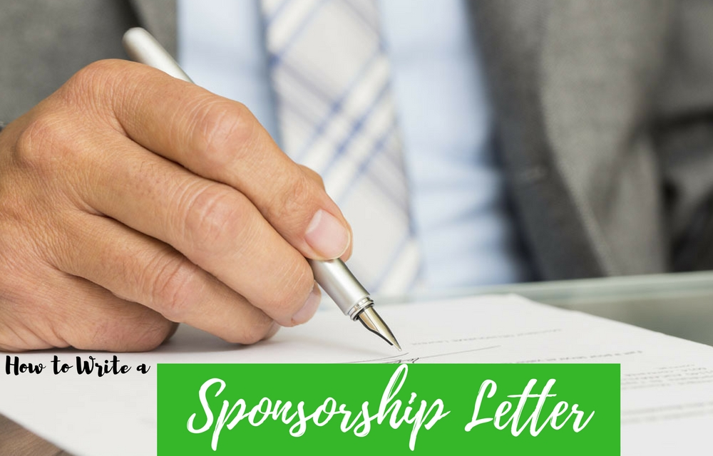 How to Write a Sponsorship Letter (with Free Sample Formats) - WiseStep