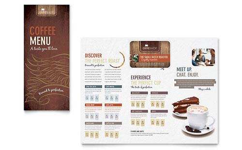Cafe Menu Templates Free Download - annesutu