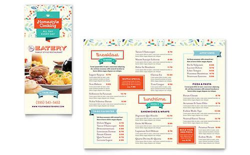 tri fold menu template free - Minimfagency - microsoft trifold template