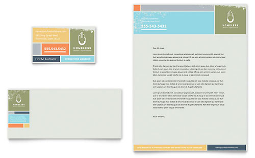 Teal Yellow Gradient Border Professional Letterhead Stellar - free letterhead templates for word