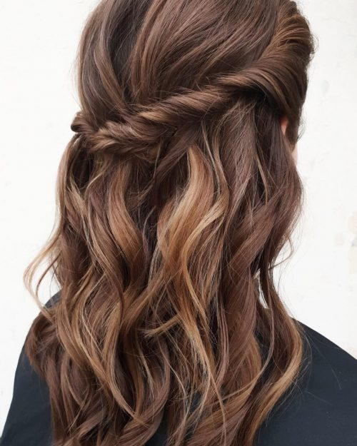 Balayage Brown To Blonde With Fringe 35 Hottest Chocolate Brown Hair Color Ideas Of 2020