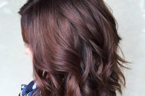 Curly Hair Length Chart 33 Brilliant Burgundy Hair Color Ideas Trending In 2018