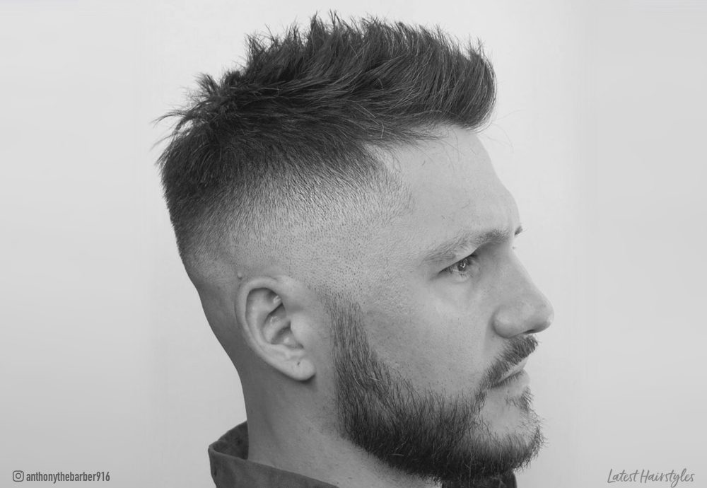 Haircut For Fine Mid Length Hair 13 Mid Fade Haircuts For Men Trending In 2020