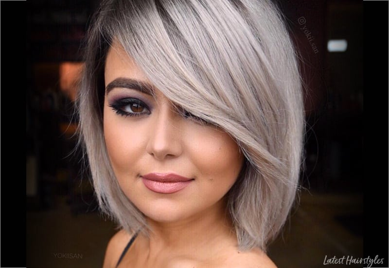 Curly Hair Length Chart 17 Hottest Short Bob With Bangs You 39;ll See In 2020