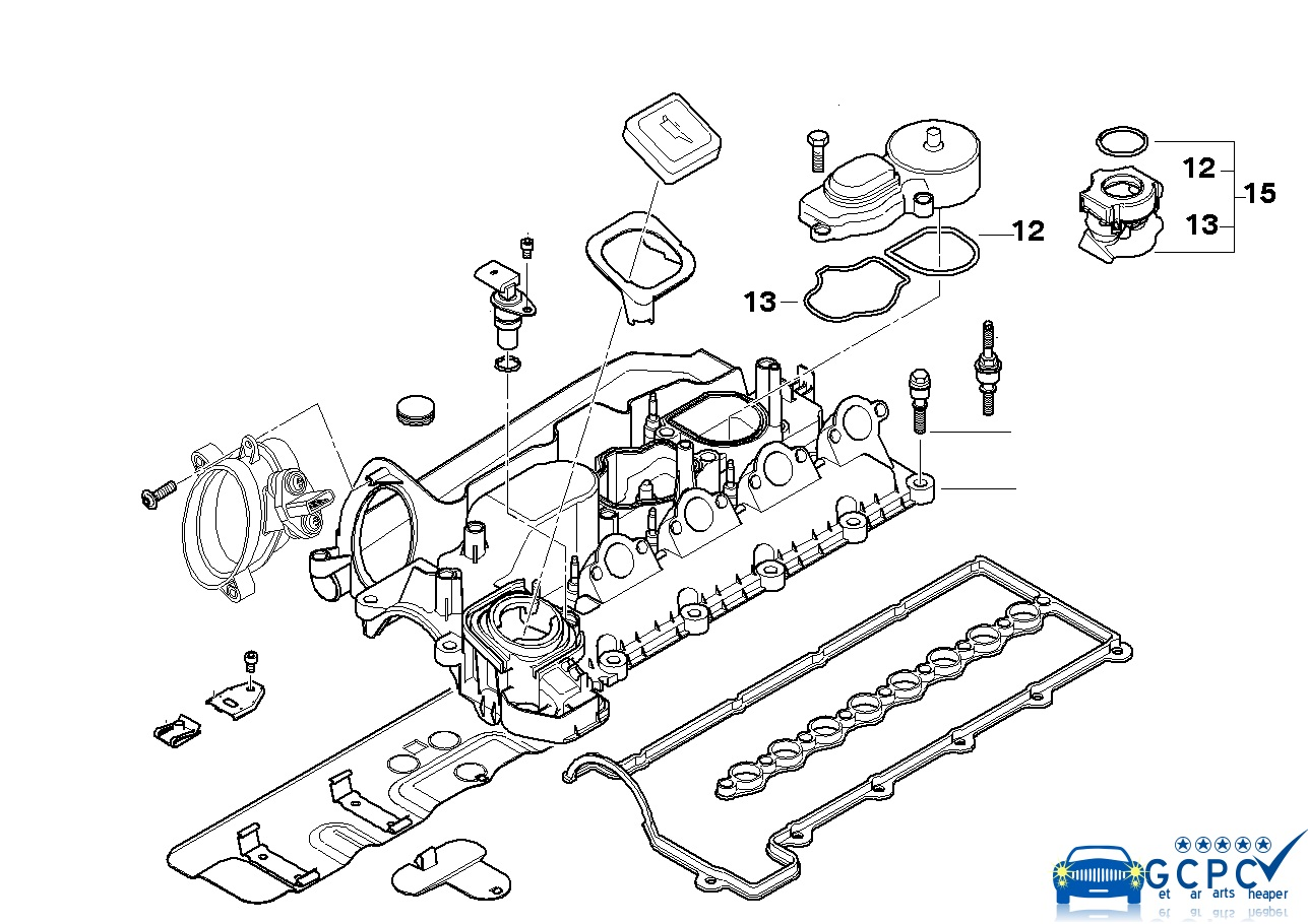 bmw e60 engine diagram