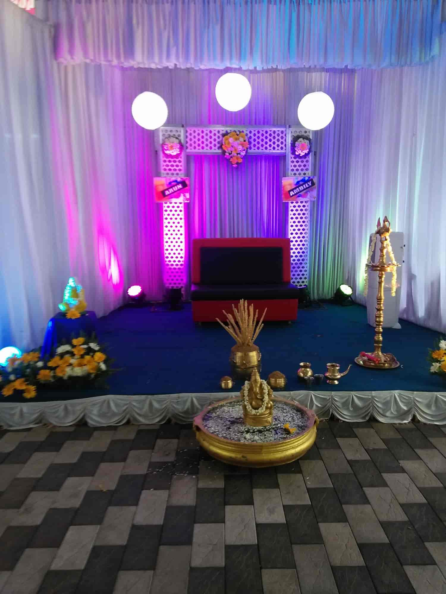 Stage Decoration Tp Stage Decoration Caters Photos Punnamada Alappuzha Pictures