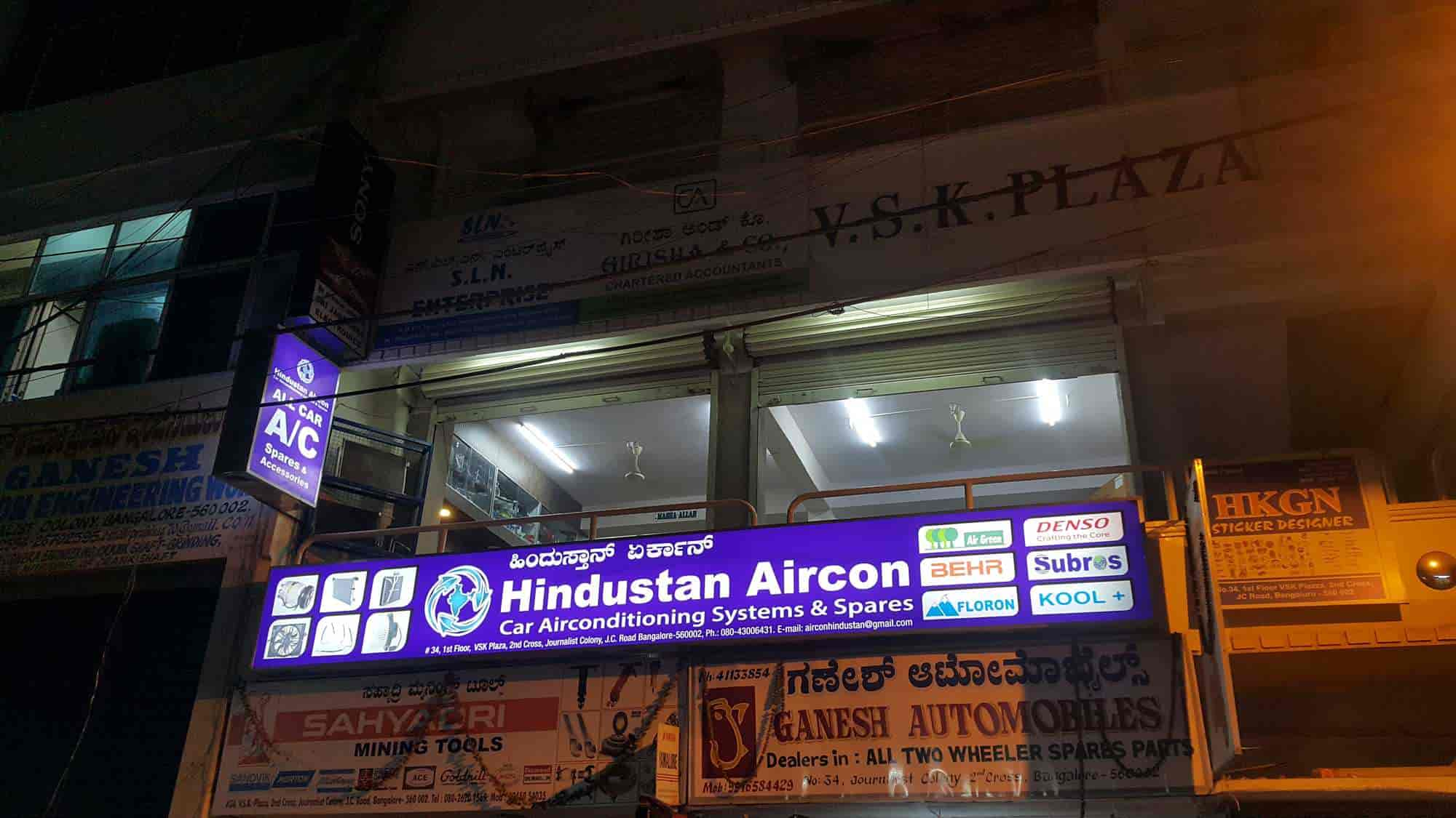 Travel Air Jc Road Bangalore Hindustan Aircon Jc Road Car Accessory Dealers In