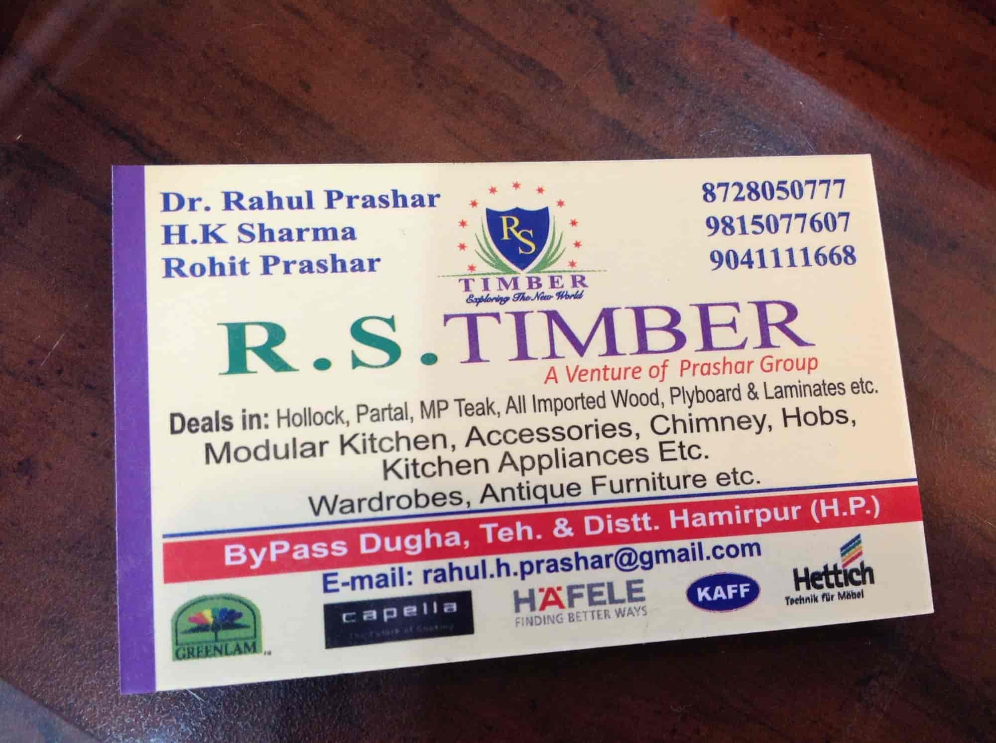 R S Timber Hamirpur H O Furniture Dealers In Hamirpur Himachal Pradesh Justdial