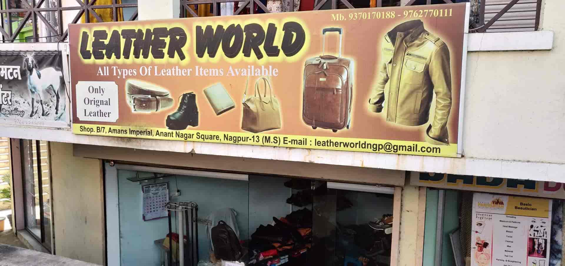 Leather Shop Leather World Anant Nagar Women Leather Bag Dealers In Nagpur