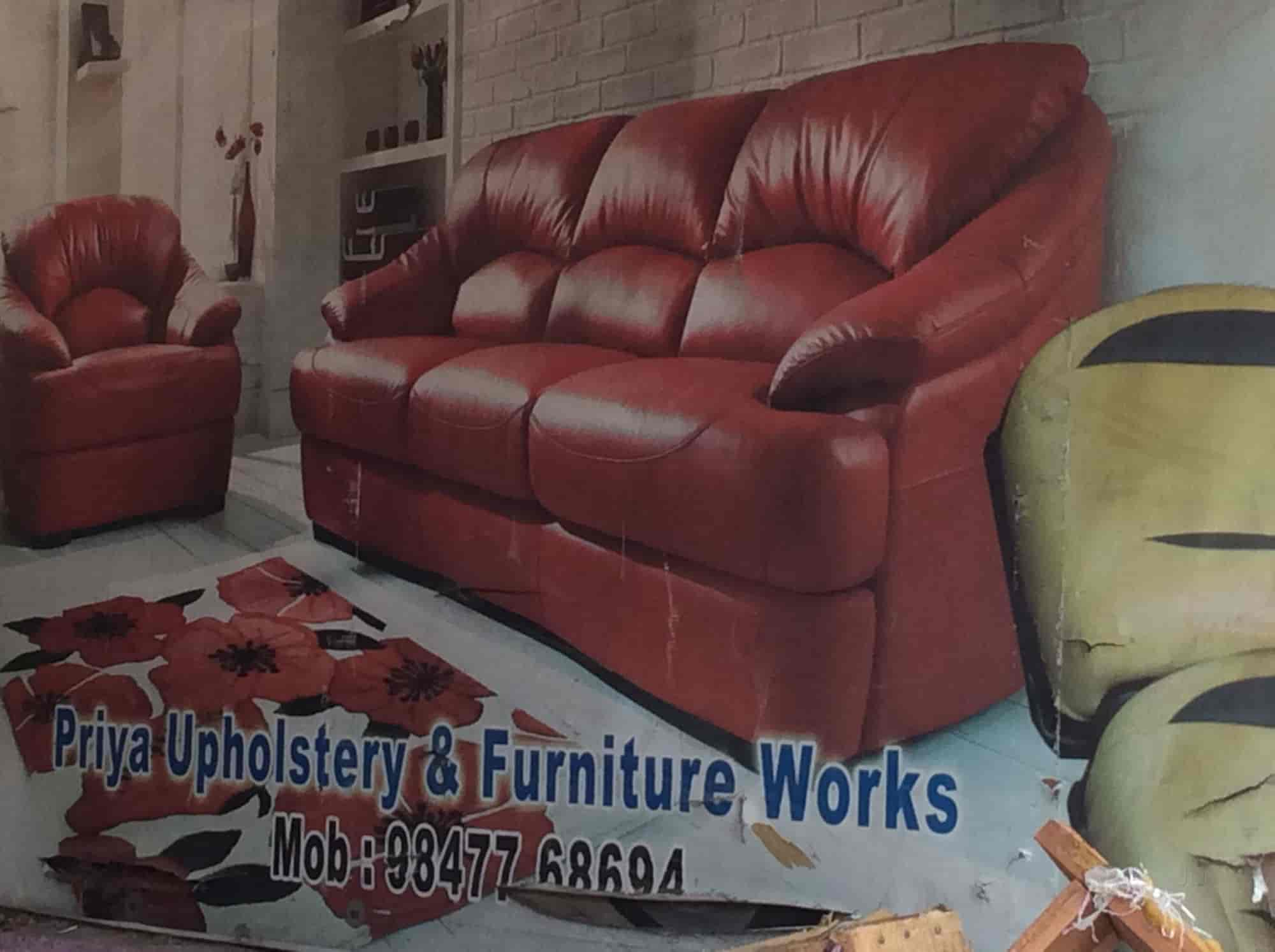 Sofa Upholstery Thrissur Priya Upholstery Kurkancheri Furniture Dealers In Thrissur