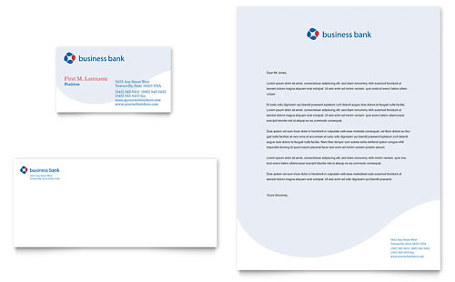 Formal Business Letter Office Templates Banking Letterhead Templates Financial Services