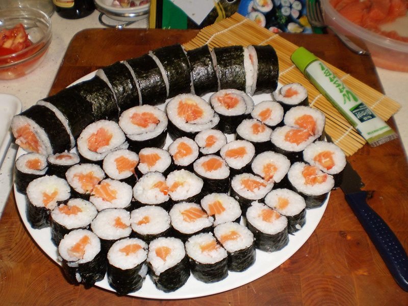 Japan Sushi Sushi In Japan … #tastytuesday