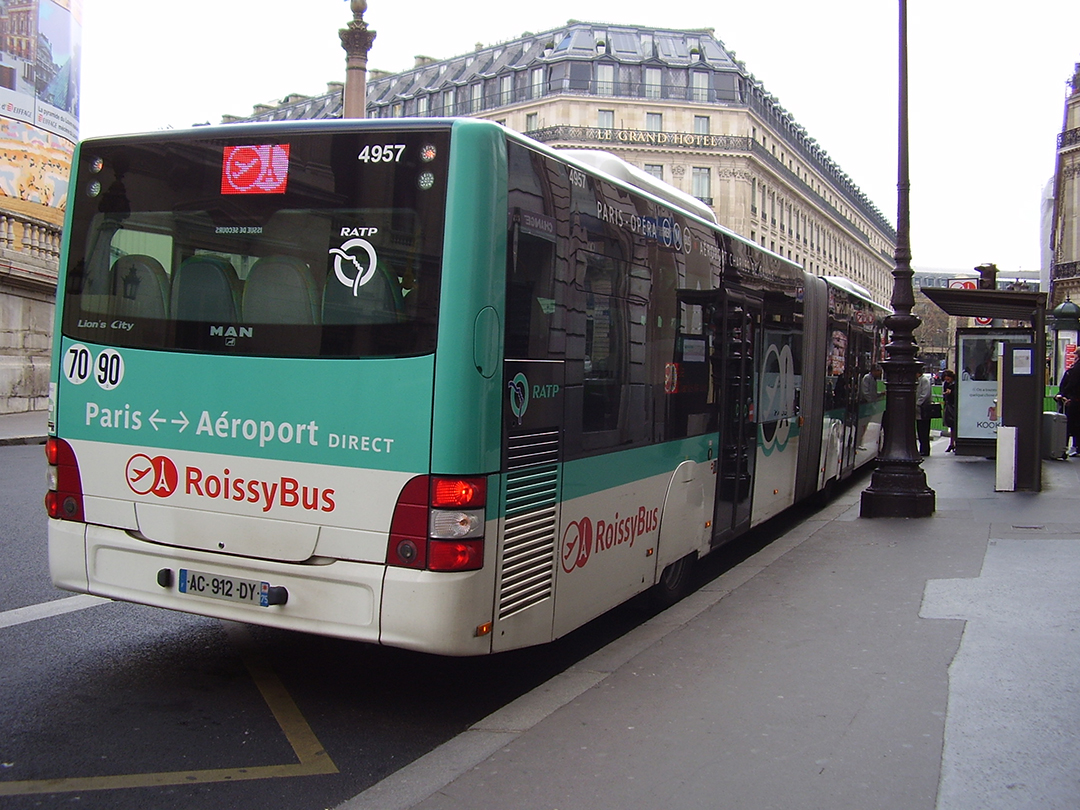 Bus Roissy How To Get From Charles De Gaulle Airport To Paris City Centre