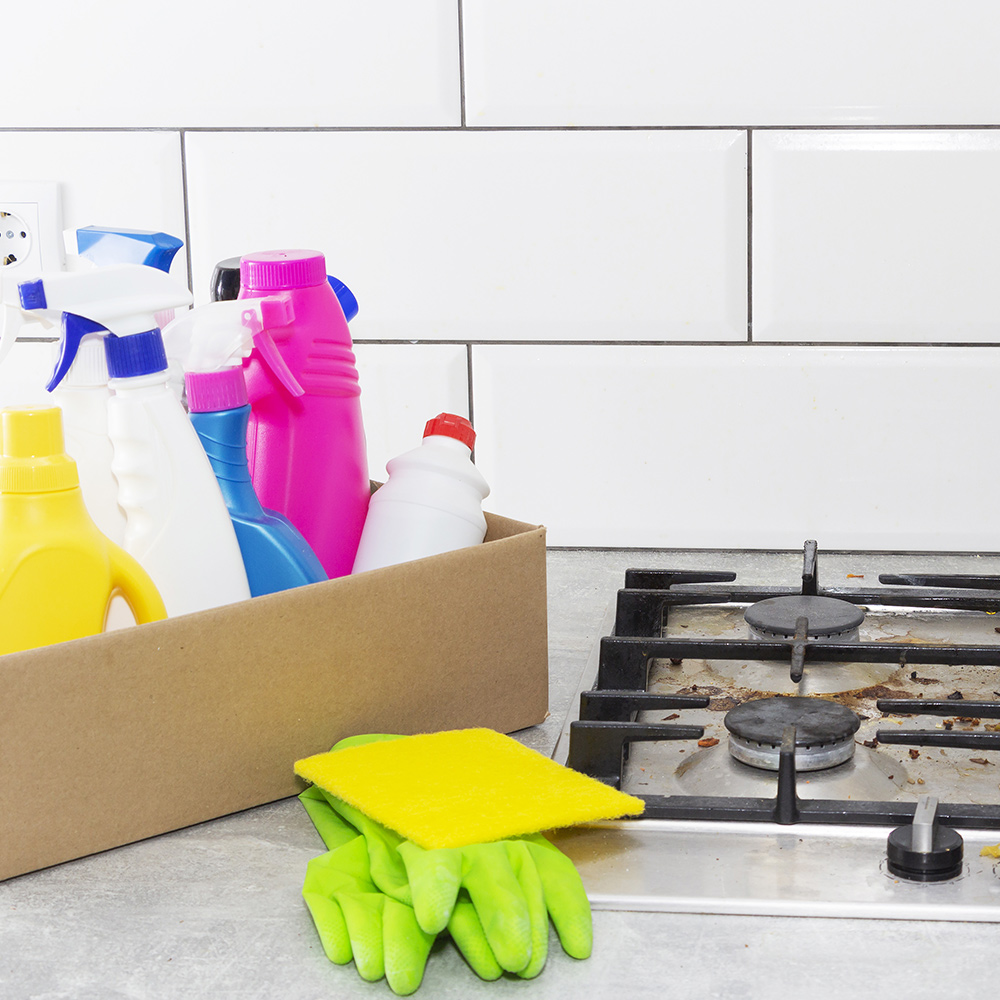 How To Clean A Stove Top The Home Depot