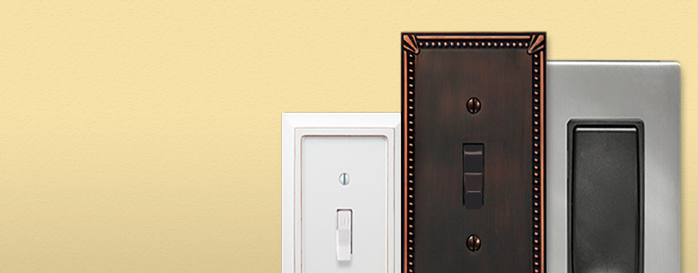 Contemporary Electrical Outlets Wall Plates Light Switch Covers At The Home Depot