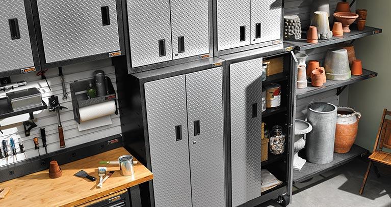 Garage Storage Shelving Units Racks Storage Cabinets