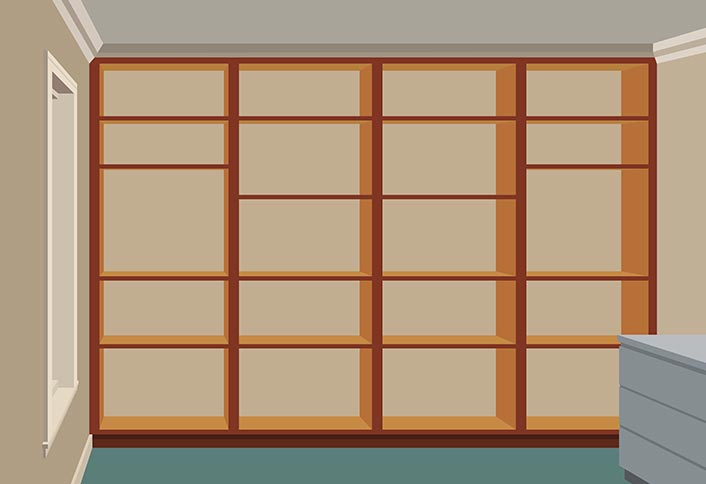 How To Construct A Built In Shelving Unit At The Home Depot