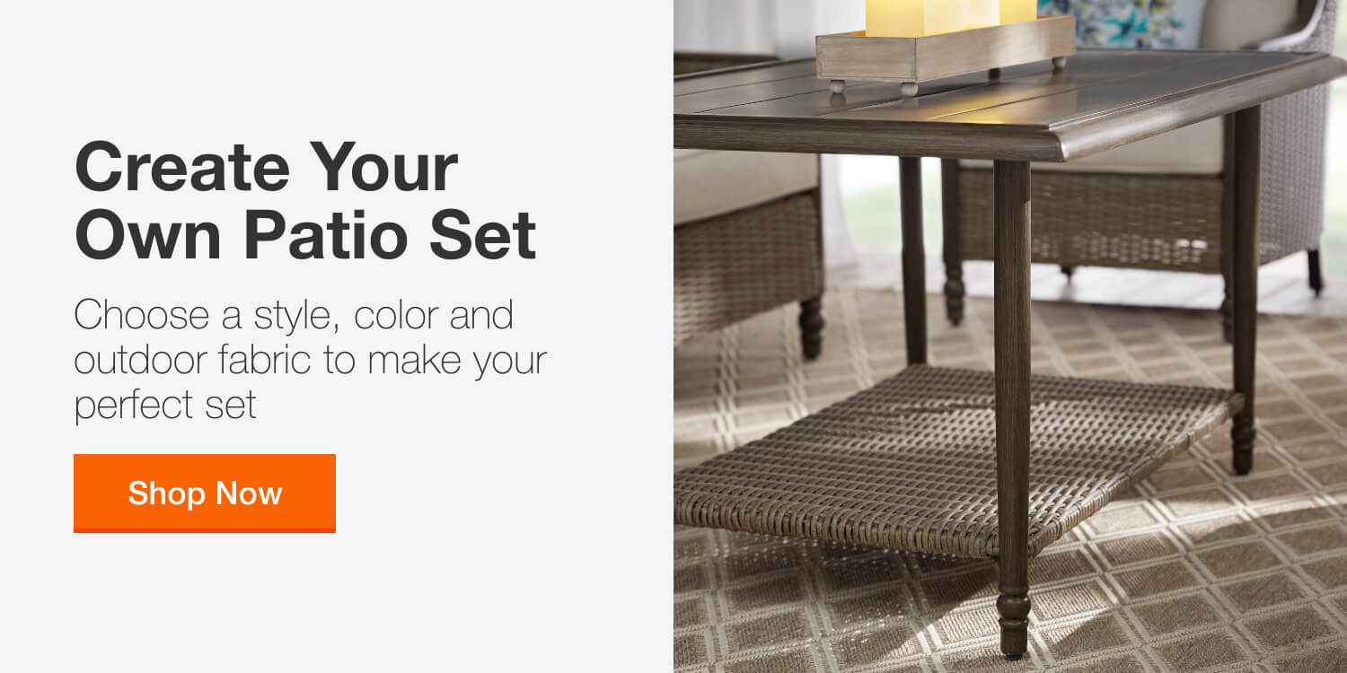 Patio Tables Patio Furniture The Home Depot - Garden Furniture Clearance Hop Farm