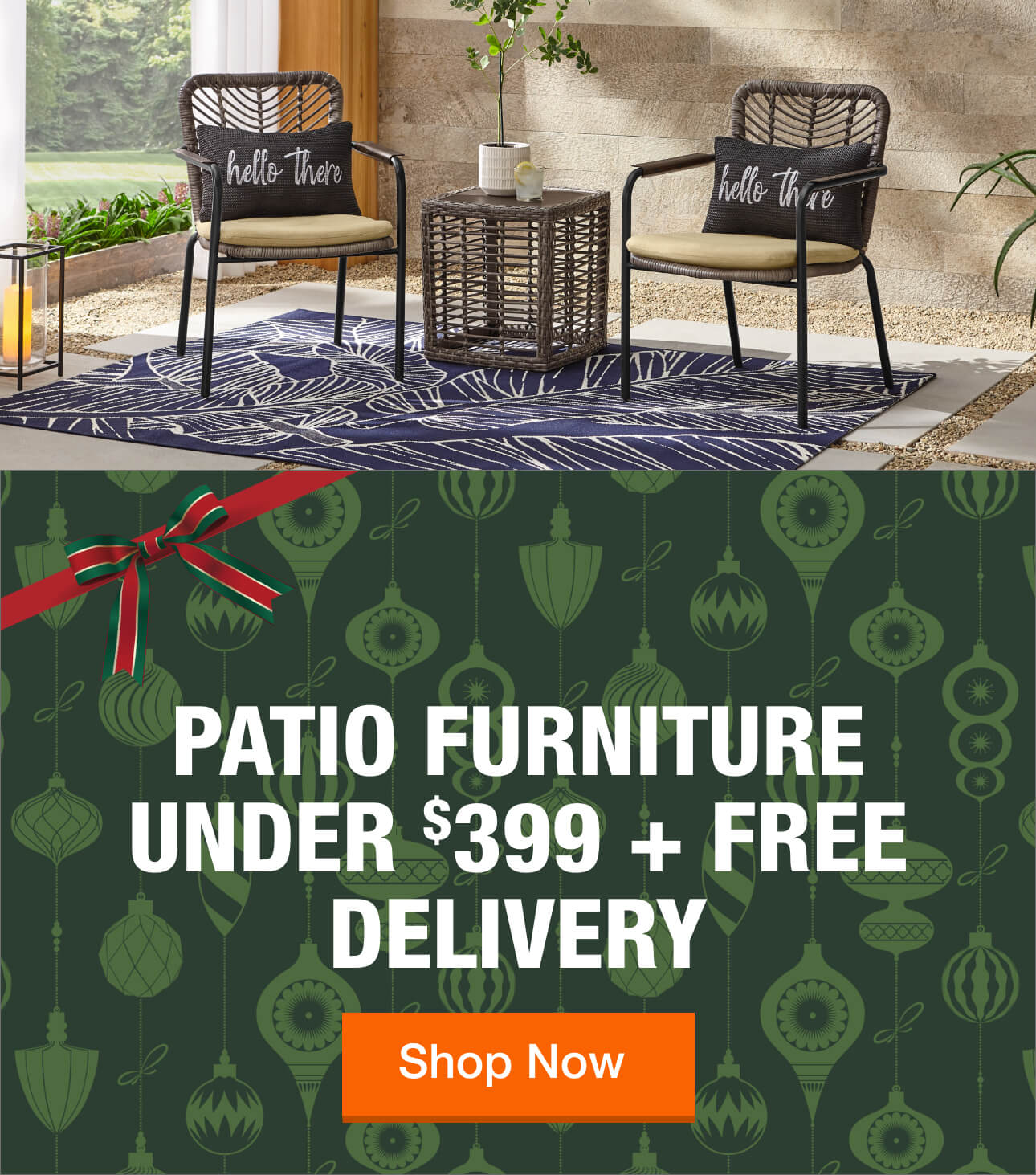 Patio Furniture The Home Depot - Garden Furniture Clearance Gloucester