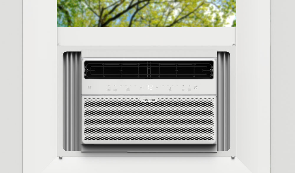 Toshiba 15,000 BTU 115-Volt Touch Control Window Air Conditioner