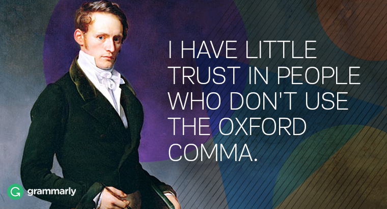 What Is the Oxford Comma and Why Do People Care So Much About It
