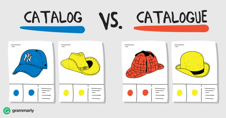 Catalog or Catalogue\u2014Which Should You Use? Grammarly