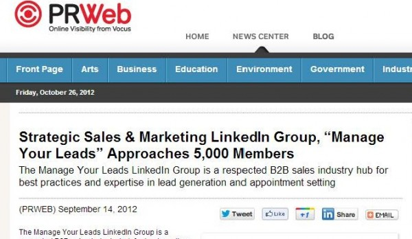 promote your linkedin group