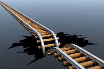 train tracks-content marketing