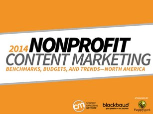 nonprofit content marketing research title