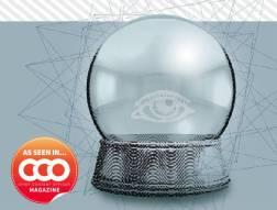 crystal ball with eye-illustration