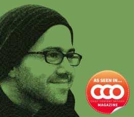 smiling guy in hat, glasses-cco logo